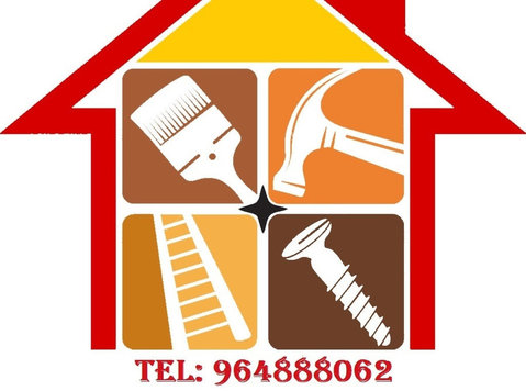 Arranjos, Reparações ao domicílio, Manutenção, . - Domésticos/Reparação