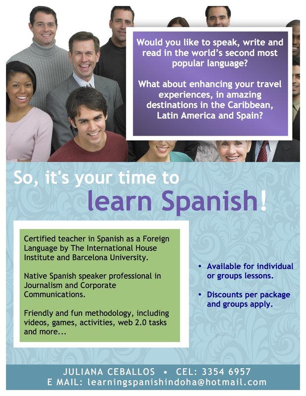 Spanish Lessons in Doha: Language classes in Qatar