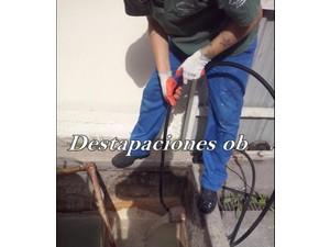 Destapaciones con maquinas cloacales y pluviales 01147344230 - Electricistas/Fontaneros