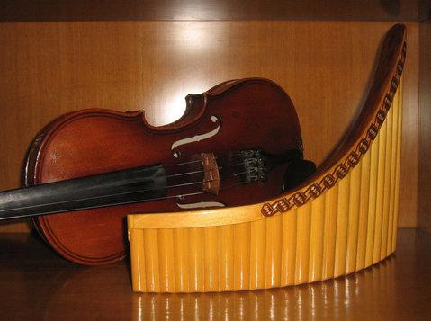 Уроки Музыки - Pan Flute / Флейта Пана. - Musica/Teatro/Danza