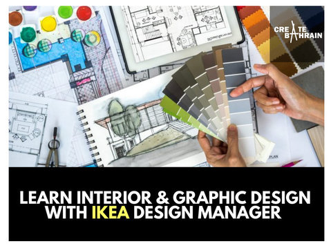 Learn Design with IKEA Design Manager (Interior & Graphic) - Autre