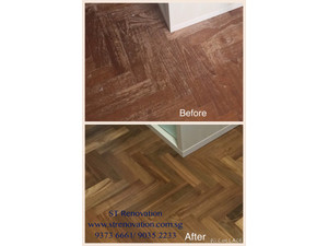 Call 9373 6661 Parquet Polishing, Marble polishing - Schoonmaak