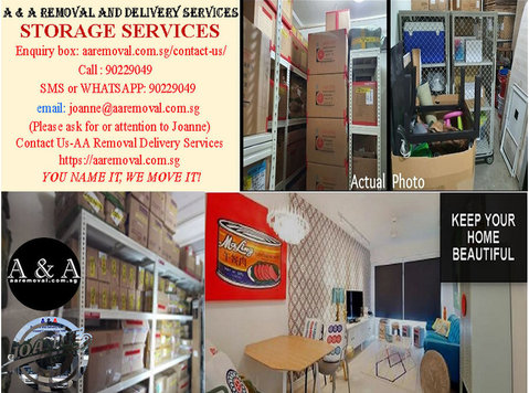 A & A Offer Long Term or Short Term Storage Space Services. - Muutot/Kuljetukset