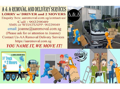 Lot of Item to Move? We Provide Lorry w/2 Professional Mover - Moving/Transportation