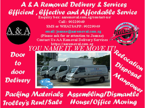 Safe, Truste & Affordable Removal and Delivery Services. - Moving/Transportation