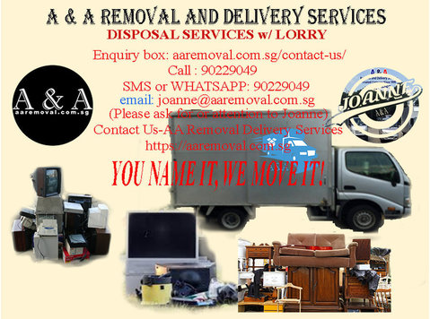 Want to dispose your old or unused stuffs? - Moving/Transportation