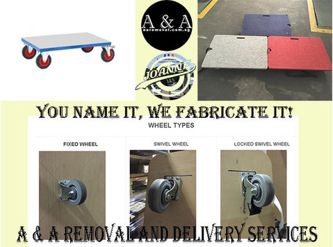 We Do Fabrication of Quality Trolley Depends on your Moving - Moving/Transportation