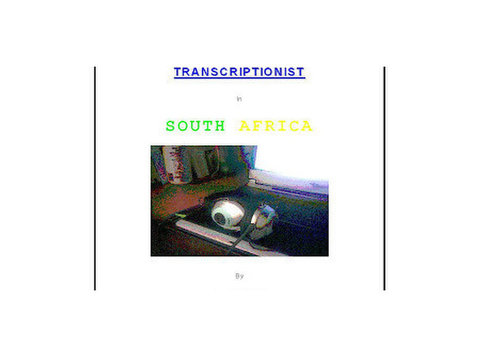 Working From Home as a Transcriptionist in South Africa - Knihy/Hry/DVD