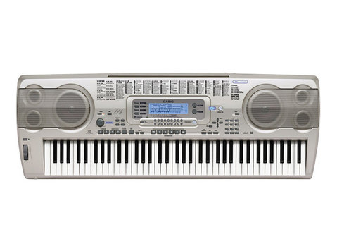 casio wk-3200 76-key Portable Keyboard - Eletronicos