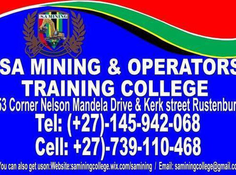 Bob cat training in Rustenburg Limpopo Vryburg 0766155538 - Classes: Other