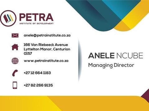 Skills Development Institute/center in South Africa - Autre