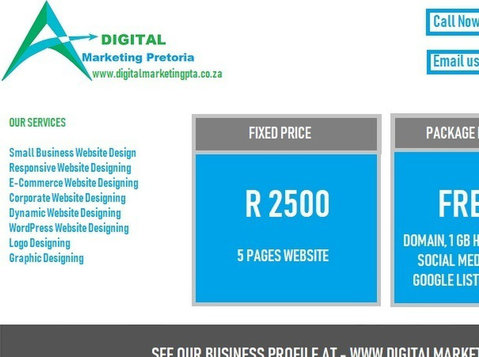 website design and e-commerce development Midrand - Computer/Internet