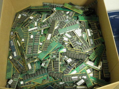 Computer scrap ram , gold finger , motherboard available for - Електроника