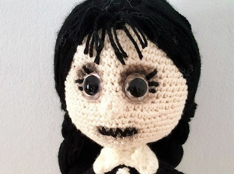 friday addams amigurumi - Baby/Kids stuff