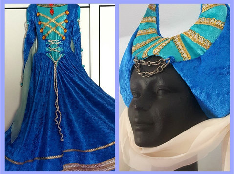 Medieval fantasy dress - Clothing/Accessories