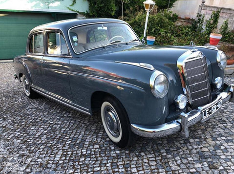Mercedes Benz 220 S Baujahr 1957 Top Restauriert Note 2+ - Voitures/Motos