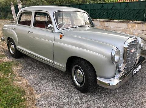 Mercedes Benz Baujahr 1960 erster Hand Top Restauriert - รถยนต์/รถจักรยานยนต์