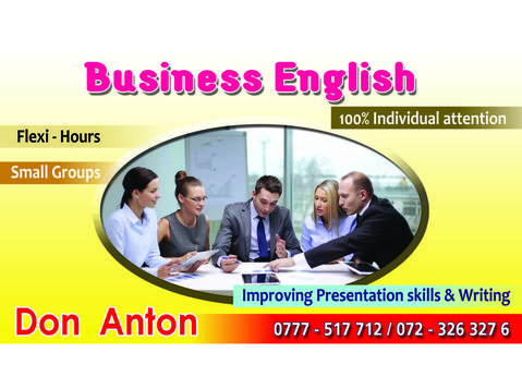 Business English - Aulas de idiomas