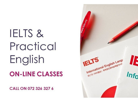 ielts & practical english online - Språk lektioner