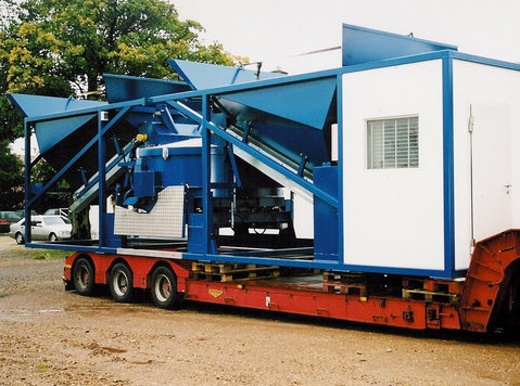 Sumab Sweden K-80 Containerised concrete batching plant - Altro