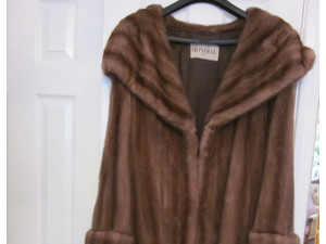 Beautiful Ladies Mink Fur Coat - Christmas Gift - Kıyafet/Aksesuar