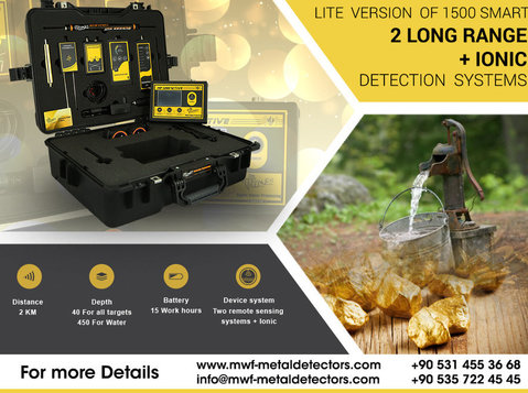 Mf 1200 Active With 3 detection systems - Electronics