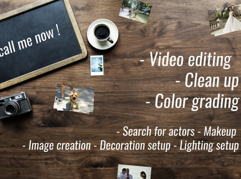 Video Editor,Video Editing, Motion Graphics, - Editorial/Translation