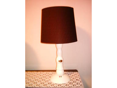 ABATJOUR LAMP WITH SHADE FENDY ENNIO GARDINI DESIGN ITALY - Collezionismo/Antiquariato