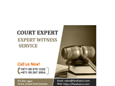 Court Expert in Dubai | Expert Witnesses services - Legali/Finanza