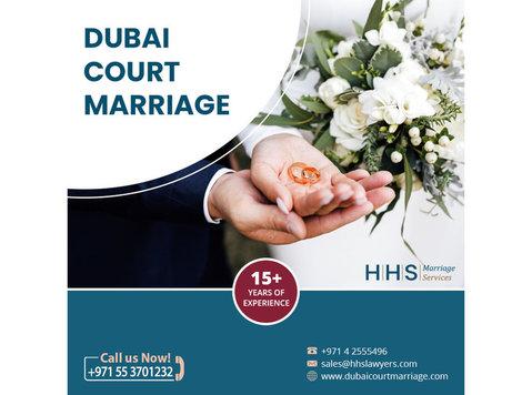 Dubai Court Marriage services | Marriage Lawyers in Dubai - Legal/Finance