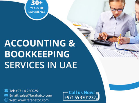 Need Accounting and Bookkeeping services in UAE - Legal/Finance