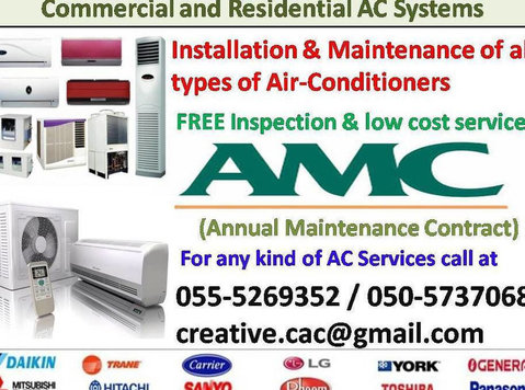 home services split ac 055-5269352 gas maintenance air con - Stěhování a doprava