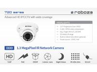 Roboza D133 : 1.3 MegaPixel Ir Network Camera - Electronics