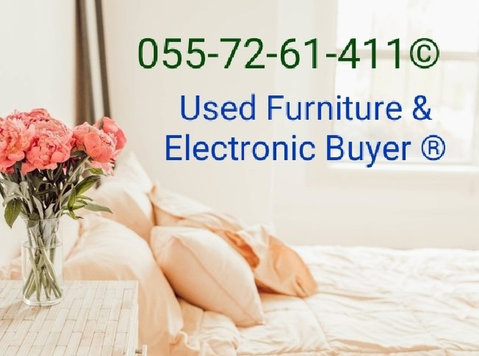 Used Furniture and Electronic Buyer 0557261411 - Muebles/Electrodomésticos