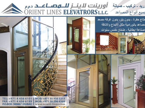Villa Elevators with Automatic Doors - Building/Decorating