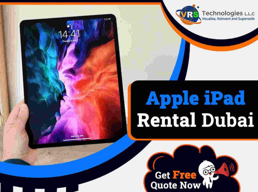 Apple ipad Rental for Meetings in Dubai Uae - Computer/Internet