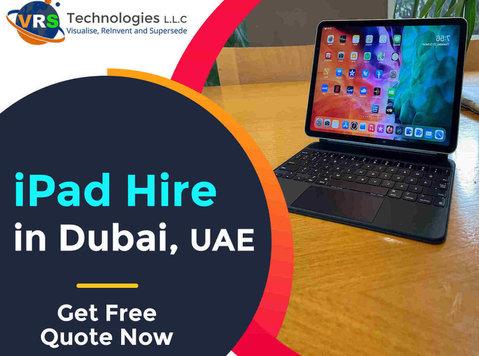 Renting ipads throughout Uae at Vrs Technologies - คอมพิวเตอร์/อินเทอร์เน็ต