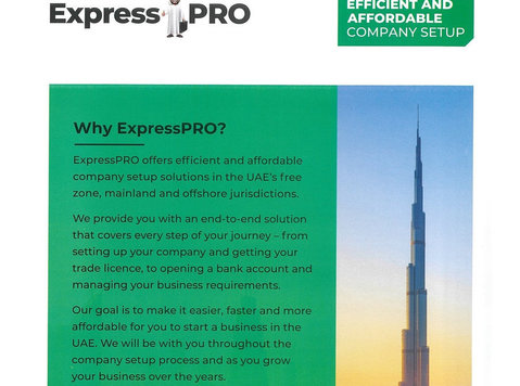 ExpressPRO offer quick and affordable company setup solution - Annet