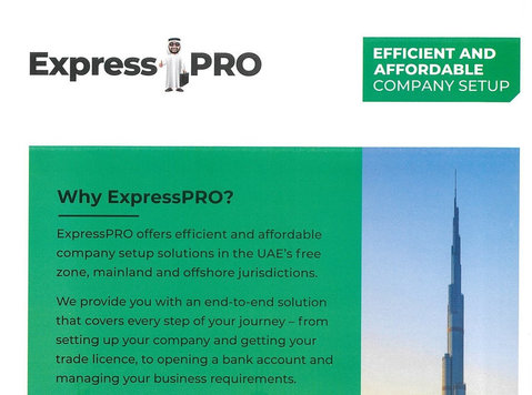 Expresspro offer quick and affordable company setup solution - 기타