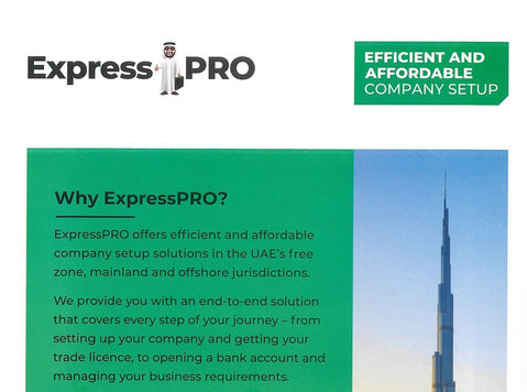Expresspro offer quick and affordable company setup solution - Iné