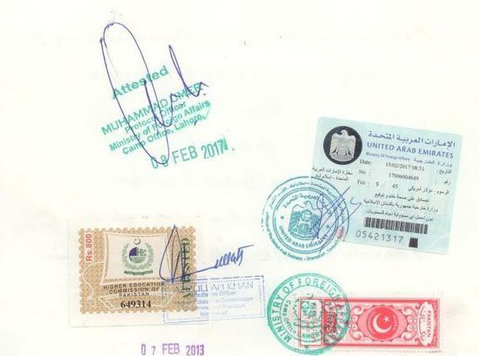 Pakistani Certificate Attestation IN UAE - Iné