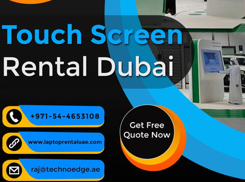 Rent High Quality Touch Screens in Dubai - Services: Other