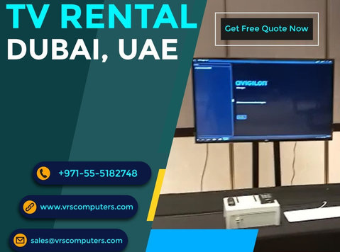 Rent Televisions in Dubai at Vrs Technologies Llc - 기타