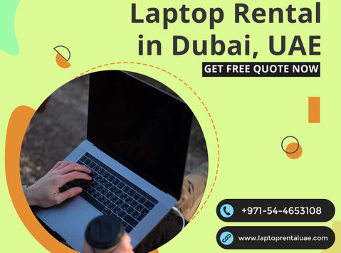 Why Businesses Rent Laptops for Events in Dubai? - 기타
