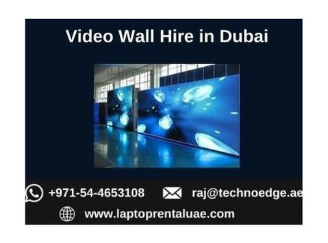 Why to Choose us for Hiring Video Walls in Dubai? - Inne
