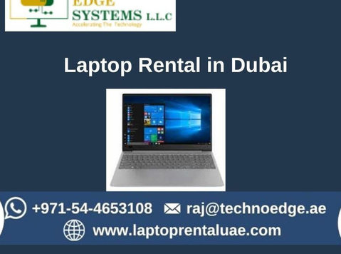 Why to choose us for Laptop Rental in Dubai? - Другое