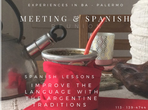 Spanish lessons Tango & Argentine culture via Skype or Zoom - Language classes