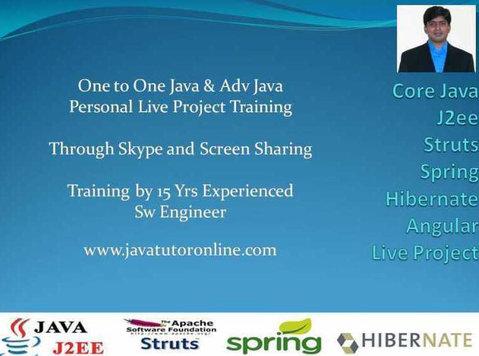 Learn Java Programming | Private Online Java Tutor - Iné