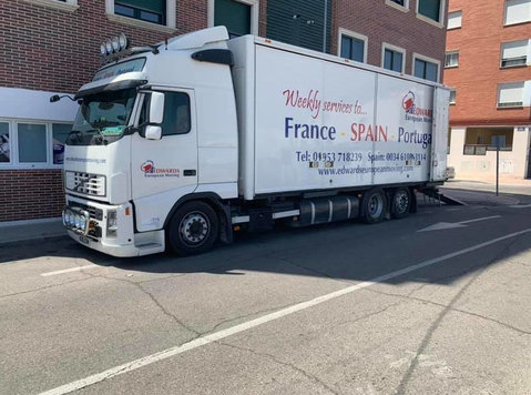 Weekly Part Loads and Full Loads throughout Europe - Mudanzas/Transporte