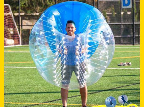 ZorbingBallz Bubble Football Human Zorb Water Walking Ball - Bücher/Spiele/DVDs